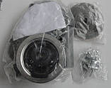 Угловая кухонная мойка Fabiano 78х51 нержавеющая сталь, микродекор, фото 4