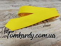 Однотонный галстук от Zermon (Желтый)