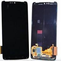 Дисплей (экран) для Motorola XT1254 Droid Turbo/XT1225 + тачскрин, черный, оригинал