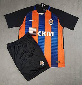 Футбольная форма сезона 2017-2018 Шахтер Донецк ( Shakhtar Donetsk ), оранжево-черная