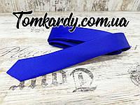 Однотонный галстук от Zermon (Электрик)