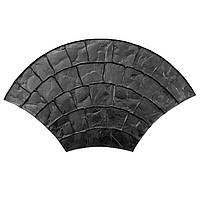 """Штамп полиуретановый """"Веер большой"""" 1180*660*15 мм для печати по бетону"""