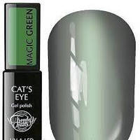 Гель-лак Trendy Nails MAGIC GREEN (кошачий глаз), 8 мл