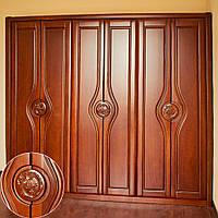 Шкаф для одежды из красного дерева - Элитный шкаф купе