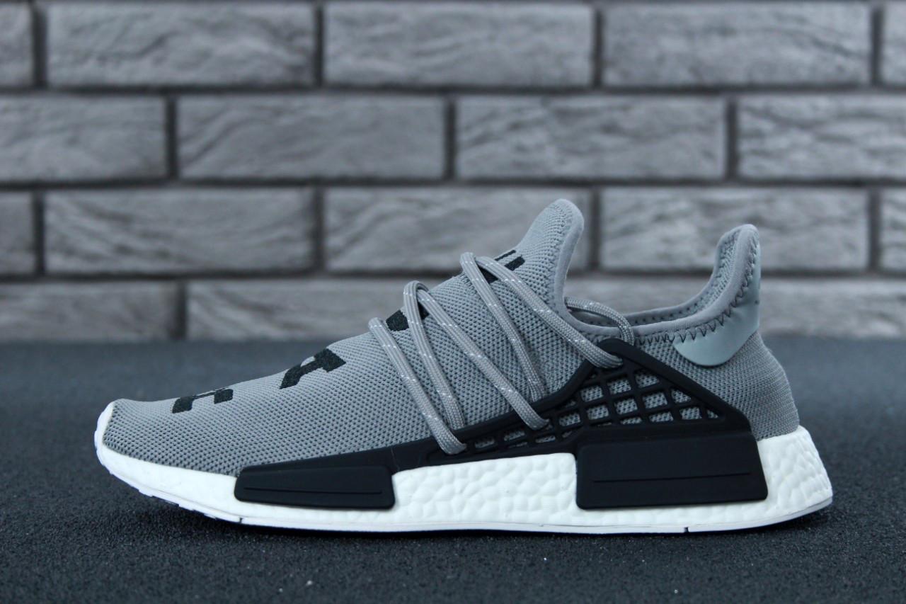 d6d18b1810a532 Мужские кроссовки Adidas Human Race NMD x Pharrell Williams Grey - Компания