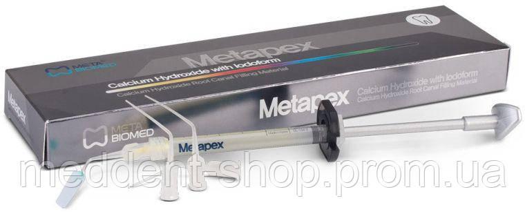 Метапекс (кальц. гидроксид с йодоформом 2,2г)  , фото 2