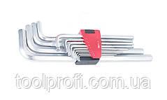 Набор ключей 6-гранных (HEX) Г-образных экстрадлинных 13 пр. (2-19 мм)