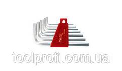 Набор ключей 6-гранных (HEX) Г-образный 7 пр. (1.5-6 мм)