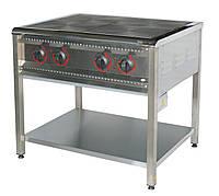 Плита профессиональная электрическая,10,5 кВт, 4-конфорочная, ПЕ-4 Н Энергоэффективная АРМ-ЭКО