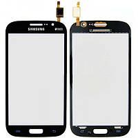 Тачскрин для Samsung i9080 Galaxy Grand/i9082, синий, Marble Blue Оригинал (тестирован)