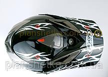 Шолом для мотоцикла Hel-Met 117 кросовий, фото 3