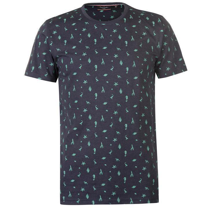 Молодежная стильная футболка Pierre Cardin Seaside AOP размер M оригинал