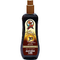 Спрей-гель с бронзатором для загара на солнце AUSTRALIAN GOLD SPF SPF 30 Spray Gel With Bronzer, 237 ml