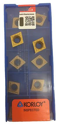Пластина ZCC-CT CCMT 09T308-HR YBD152, фото 2