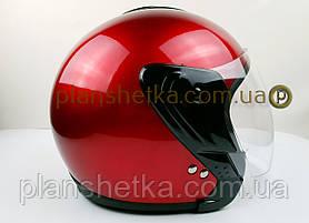 Шлем для мотоцикла Hel-Met 217 красный глянец, фото 3