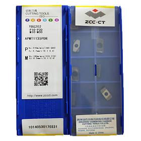 Пластина ZCC-CT APMT160408PDER YBG202