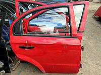 Дверь задняя правая Chevrolet Aveo T250
