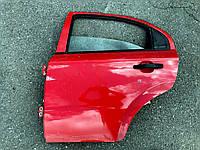 Дверь задняя левая Chevrolet Aveo T250