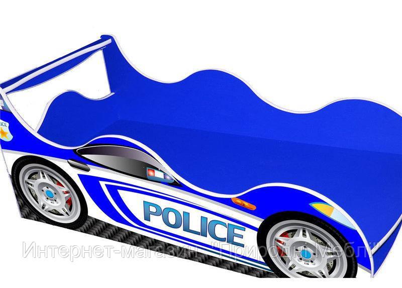 Кровать Машина Драйв Полиция Д-004 70*140