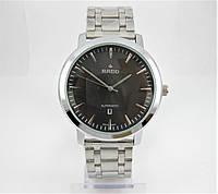 Часы Rado Automatic 44mm Quartz Silver/Black. Replica