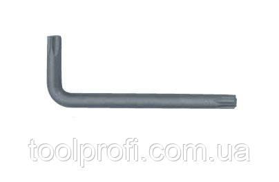 Ключ Torx Г-образный с отверстием Т25Н, L=32/60 мм