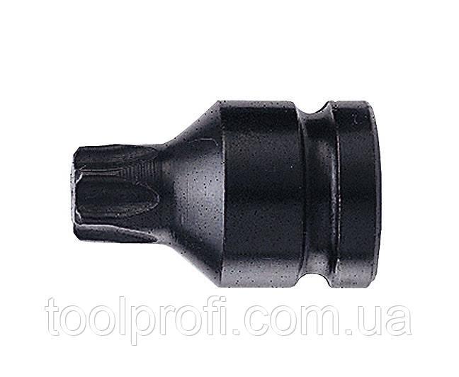 """1/2"""" Головка-біта Torx цілісна, ударна T20, L=40 мм"""