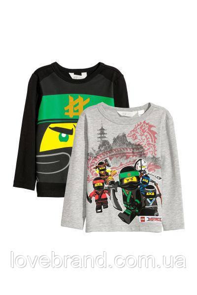 """Реглан для мальчика H&M """"Нинзяго"""" 3-4 г./104 см"""
