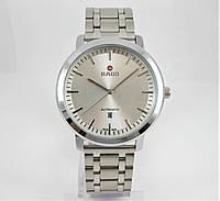 Часы Rado Automatic 44mm Quartz All Silver. Replica