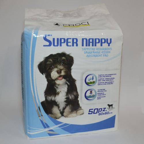 Пеленки для собак Croci CaniAMici Super Nappy 50шт (60*60см) ( C6020980 )