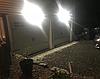Настенные уличные LED светильники Luposwiten водонепроницаемые на солнечных батареях (2 шт.), фото 4