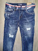 Джинсовые брюки для мальчиков  оптом,S&D ,8-16 лет., арт. DT-1005, фото 2