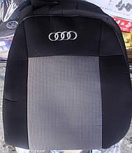 Авточехлы Audi A6 (C5) цельный c 1997-2004 автомобильные модельные чехлы на для сиденья сидений салона AUDI Ауди A6