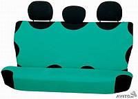 Майки чехлы для автомобиля универсальные Kegel на задние сиденье зеленые, фото 1