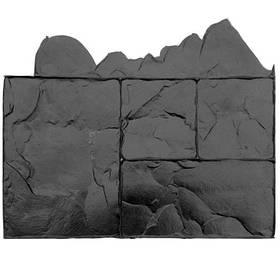 """Штамп полиуретановый """"Тёсаный камень №3"""" 580*420*15 мм - добивка"""