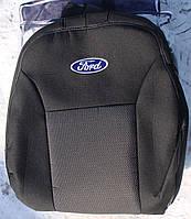 Авточехлы Ford Transit (1+1) c 2006-11 автомобильные модельные чехлы на для сиденья сидений салона FORD Форд Transit