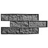 "Штамп-форма ""Колотый кирпич"" для печати стен и литья декор. кирпича"