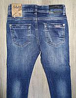 Джинсовые брюки для мальчиков  оптом,S&D ,4-12 лет., арт. DT-1008, фото 7