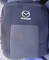 Авточехлы Mazda 5 (7мест) с 2006г автомобильные модельные чехлы на для сиденья сидений салона MAZDA Мазда 5