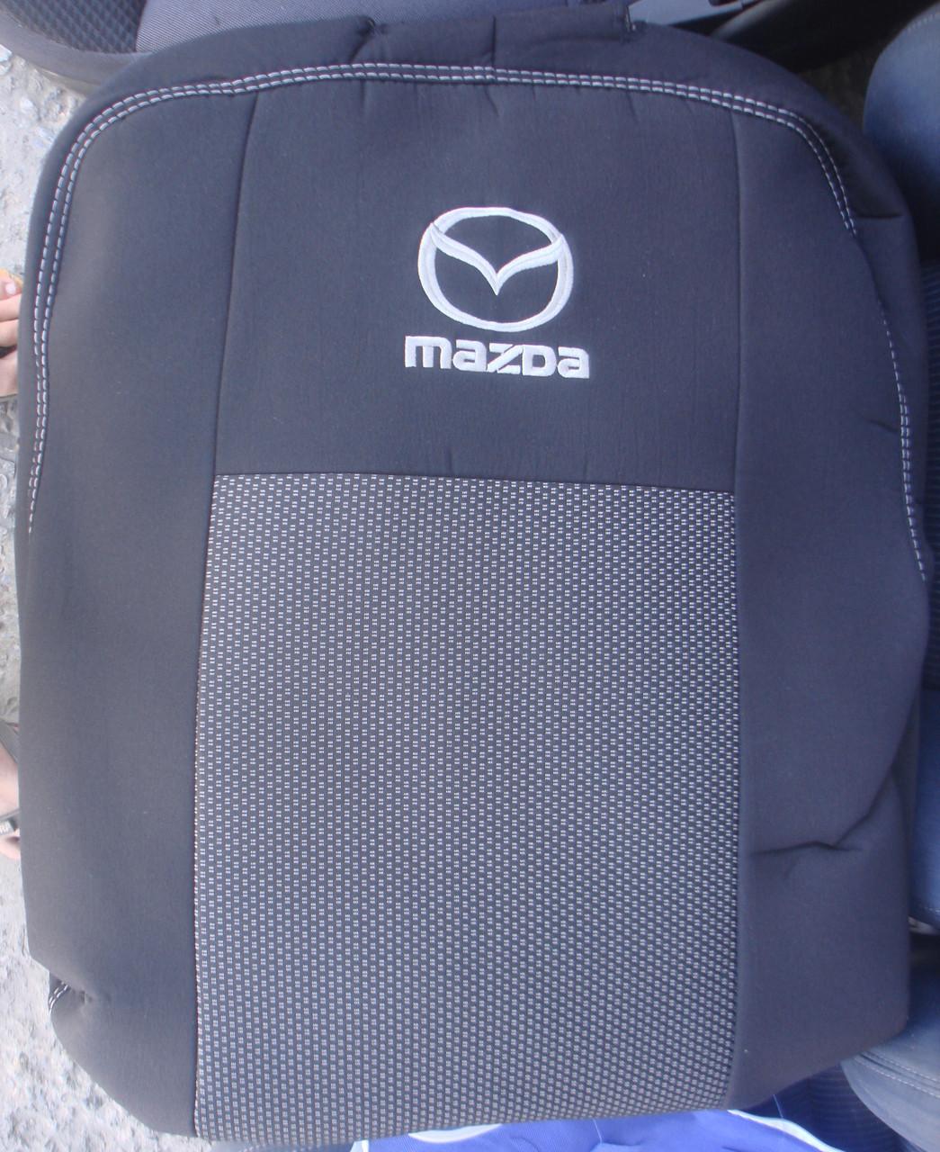 Авточехлы Mazda 626 (GE) НВ с 1992–97 автомобильные модельные чехлы на для сиденья сидений салона MAZDA Мазда 626