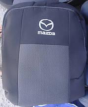Авточехлы Mazda 626 (GF) sedan с 1997–2005 автомобильные модельные чехлы на для сиденья сидений салона MAZDA Мазда 626
