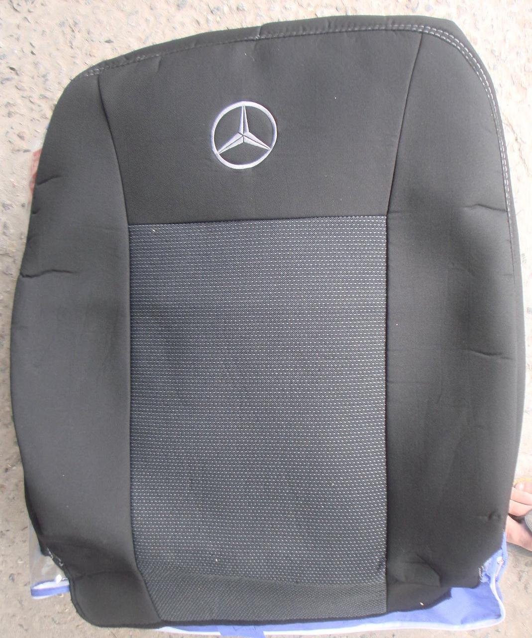 Авточехлы Mercedes Sprinter (1+1) с 2006 автомобильные модельные чехлы на для сиденья сидений салона MERCEDES MERCEDES-BENZ Мерседес Sprinter