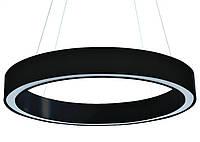 "Светодиодная люстра LED ""SPIRIT-600"" Upper 35W 2800L (3000K/4000K/6000K) IP20 черная, фото 1"