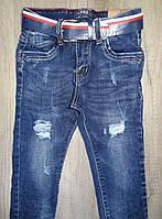 Джинсовые брюки для мальчиков  оптом,S&D ,4-12 лет., арт. DT-1009, фото 2