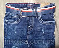 Джинсовые брюки для мальчиков  оптом,S&D ,4-12 лет., арт. DT-1009, фото 4