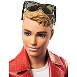 Кен на мотоцикле Розовый Паспорт, фото 4