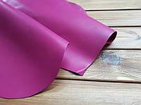 Кожа натуральная обувная т.1-1,2мм цвет Сиреневый