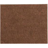 Протекторы для мебели самоклеящийся войлочный  VOREL 100х120мм (коричневый)