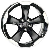 Литые диски WSP Italy Volkswagen (W465) Laceno R18 W7.5 PCD5x112 ET51 DIA57.1 (gloss black polished)