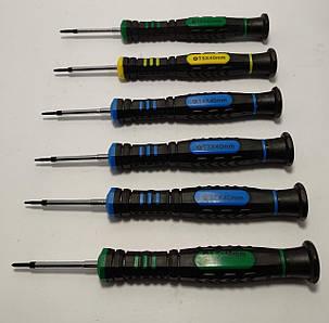 Набір викруток BAKU BK-375-A (T2, T3, T4, T5, T6, +2.0), фото 2