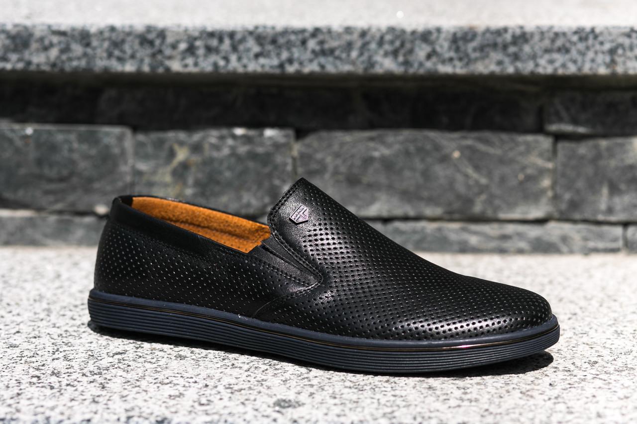 Чоловічі шкіряні мокасини з перфорацією - легке літнє взуття для Вас! -  Bigl.ua 1bd5245aa1394